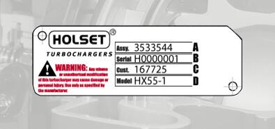 My Holset Turbo | Identifying Your Holset Turbocharger